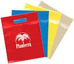 12 X 9.5 Die Cut Plastic Bags